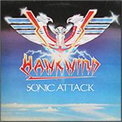 HAWKWIND - SONIC ATTACK (2LP-LTD HQ 180G BLUE VINYL/BON TRKS) Limited 2014 Deluxe 180gm Double BLUE Vinyl edition of the band's 1981 Studio Album in GATEFOLD Sleeve with 10 Bonus Tracks!