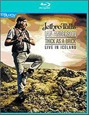 ANDERSON, IAN -JETHRO TULL- - THICK AS A BRICK-LIVE IN ICELAND (SD BLURAY) Standard Definition BluRay of a complete concert performance featuring both 'Thick As A Brick' albums in their entirety!