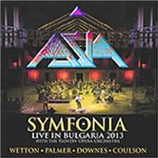 ASIA - SYMFONIA (2CD+DVD-2013 LIVE WITH P.P.O./DIGI-PAK) 'Symfonia' is a 'live' recording from the 'Sounds Of The Ages' Festival at Plovdiv's Second Century Roman Theater in September 2013!