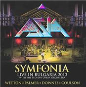 ASIA - SYMFONIA (2CD+DVD-2013 LIVE WITH P.P.O./DIGI-PAK)