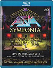 ASIA - SYMFONIA (BLURAY-2013 LIVE WITH P.P.O./DIGI-PAK) 'Symfonia' is a 'live' recording from the 'Sounds Of The Ages' Festival at Plovdiv's Second Century Roman Theater in September 2013!