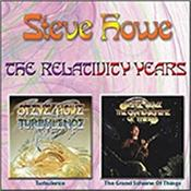 HOWE, STEVE - RELATIVITY YEARS (2CD-2017 RELATIVITY COMPILATION) Two 1990's solo albums ('Turbulence' and 'Grand Scheme Of Things') from the YES guitarist compiled on to one double CD set!