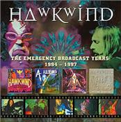 HAWKWIND - EBS YEARS:1994-1997 (LTD 5CD CLAM BOX/CARD COVERS)