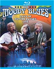 MOODY BLUES - DAYS OF FUTURE PASSED-LIVE (BLURAY-2017 CONCERT) Released in March 2018 on 3 Formats, this BluRay Disc captures a stunning 2017 concert performance recorded in Canada and filmed in High Definition, featuring The MOODY BLUES delivering their 'Days Of Future Past' album in it's entirety with a full Orchestra, plus many band classics from their golden years!