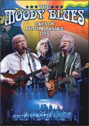 MOODY BLUES - DAYS OF FUTURE PASSED-LIVE (DVD-2017 CONCERT) Released in March 2018 on 3 Formats, this DVD captures a stunning 2017 concert performance recorded in Canada and filmed in High Definition, featuring The MOODY BLUES delivering their 'Days Of Future Past' album in it's entirety with a full Orchestra, plus many band classics from their golden years!