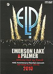 EMERSON LAKE & PALMER - 40TH ANNIV-HIGH VOLTAGE 2010 (DVD-REG 0/NTSC-EUR)