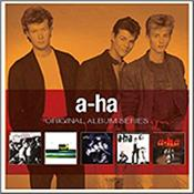A-HA - ORIGINAL ALBUM SERIES (5CD-SLIPCASE/CARD COVERS) Amazing Value pack of 5 Classic Albums housed in a Card Slipcase, with each CD coming in a Card Sleeve designed to replicate the Original Vinyl LP release.