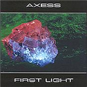 "AXESS - FIRST LIGHT (2009 REISSUE/2002 ALBUM/PYRAMID PEAK) 2009 re-issue of 2002 debut album with 7 lengthy, occasionally dark tracks featuring strong melodic leads layered over ""Berlin School"" style sequencing."