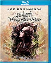 "BONAMASSA, JOE - AN ACOUSTIC EVENING-VIENNA OPERA HOUSE (BLURAY) Bluray of July 2012 show from this historic venue recorded during a special ""unplugged"" tour played to a limited audience over 7 exclusive European gigs!