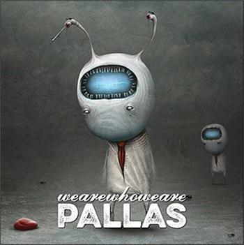 PALLAS - WEAREWHOWEARE (2015 STUDIO ALBUM/JEWELCASE)